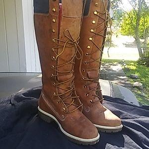 Women's High Timberland Boots